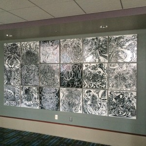 Tile mural santoleri